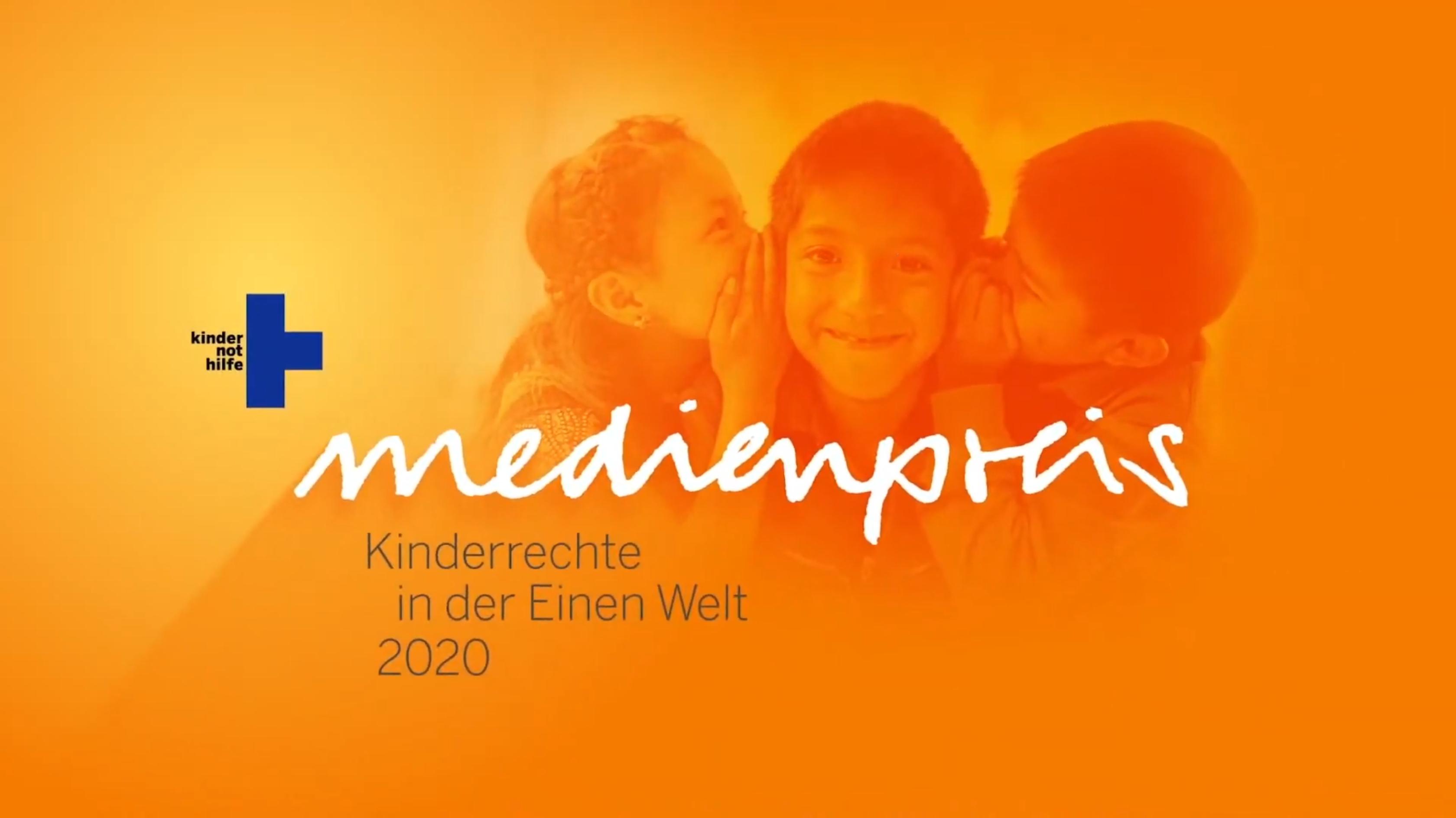 Medienpreis 2020 der Kindernothilfe
